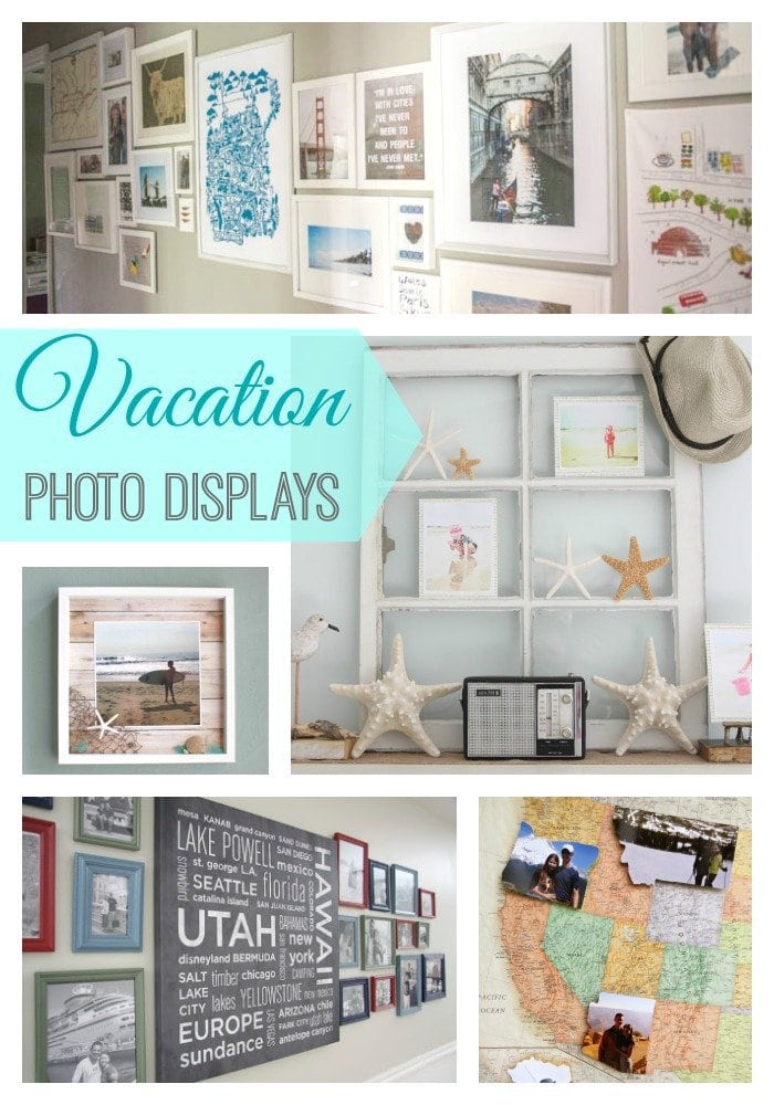 7 beautiful and creative ways to display vacation photos for Travel gallery wall ideas