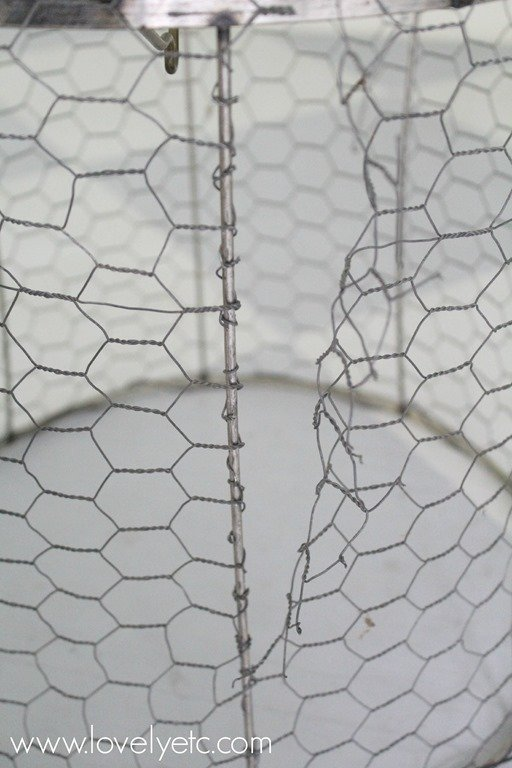 DIY Wire Basket - Lovely Etc.