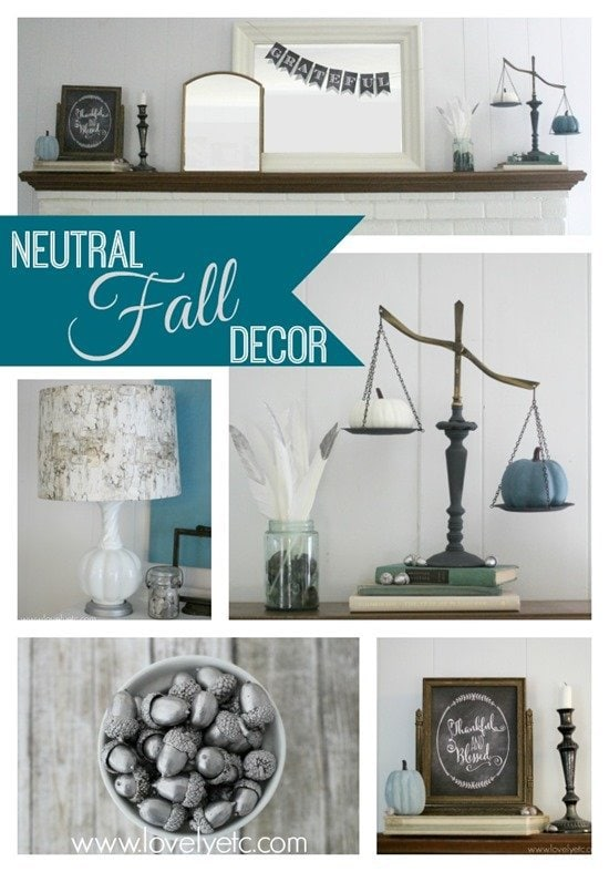 Neutral Fall Home Tour Lovely Etc