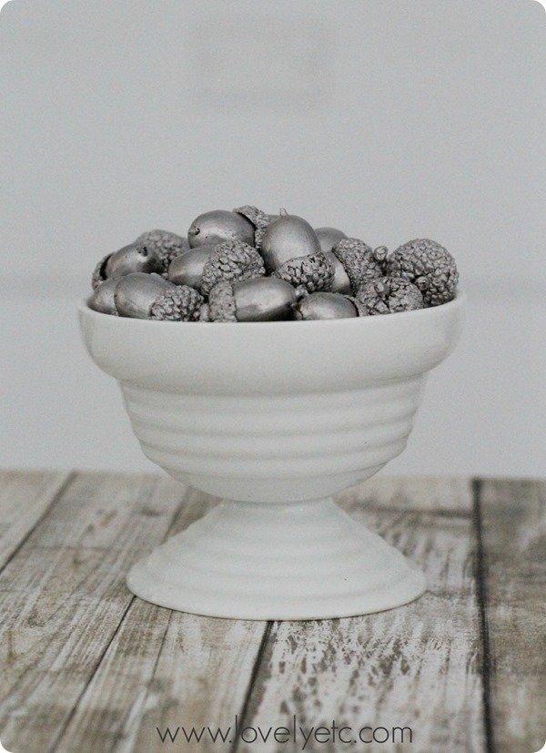 silver leaf acorns 2