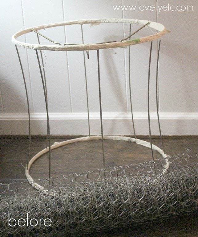 DIY Wire Basket - Lovely Etc.