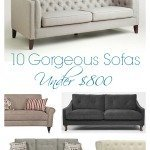 10 Gorgeous Inexpensive Sofas