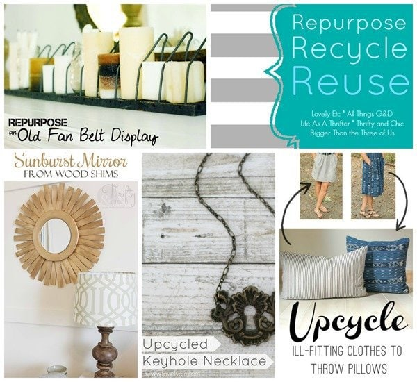 Repurpose October collage