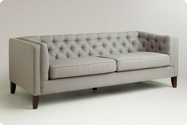 world market sofa