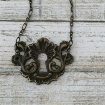 Upcycled Hardware Necklace and a Giveaway