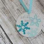 Clay Snowflake Ornament
