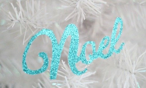 Glam Paper Christmas Ornaments