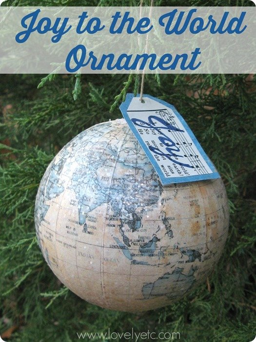 joy to the world ornament 2