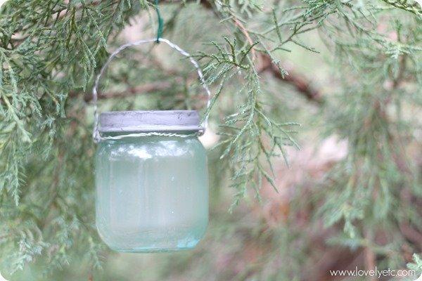 mini mason jar ornament 3