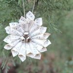 Christmas Music Wreath Ornament and Ornament Link Party