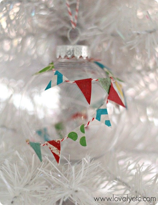 paper pennant ornament 2