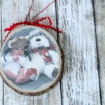 Photo Transfer Wood Slice Ornament