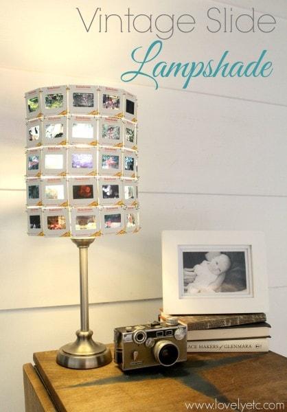 vintage slide lampshade 2