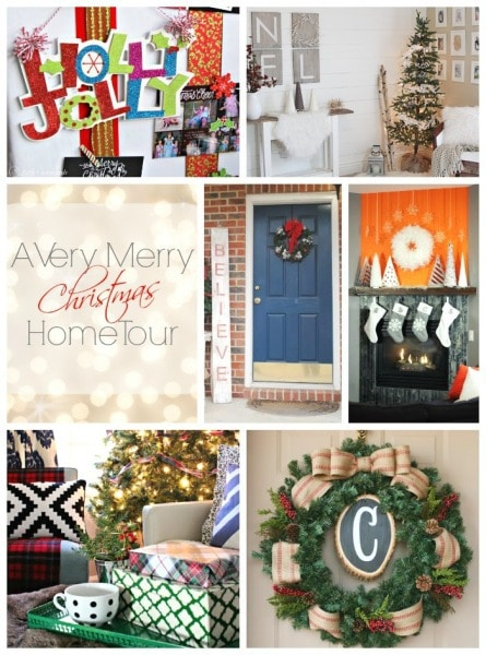 wednesday home tour collage