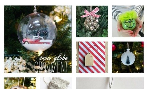 27 Standout Handmade Christmas Ornaments