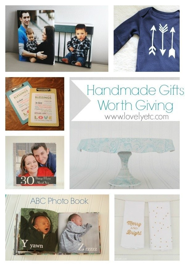 Handmade gifts worth giving