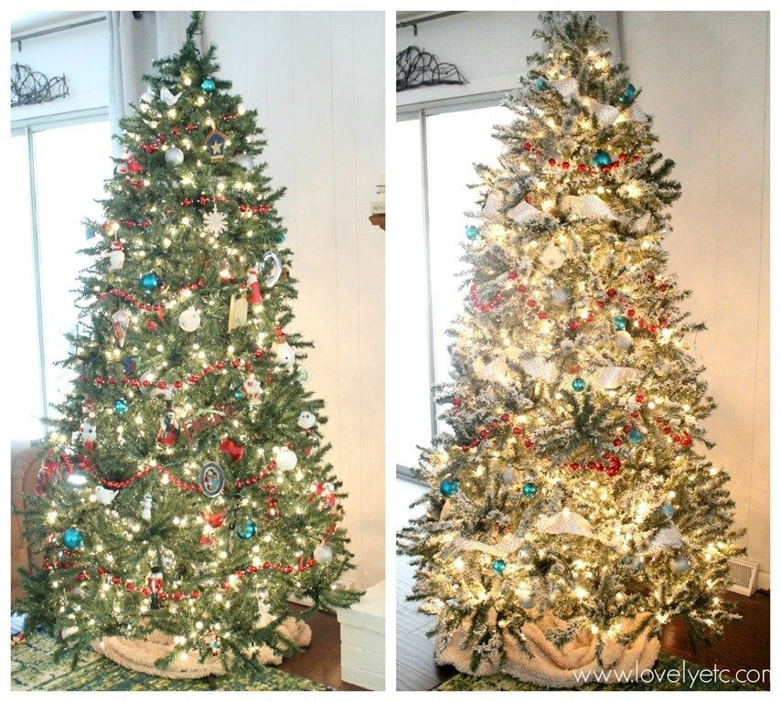 DECK THE HOLIDAY'S: DIY SNOW FLOCKING FOR YOUR CHRISTMAS TREE!!