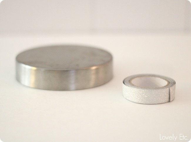jar lid washi tape
