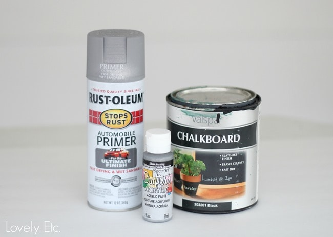 Paints for vintage metal look