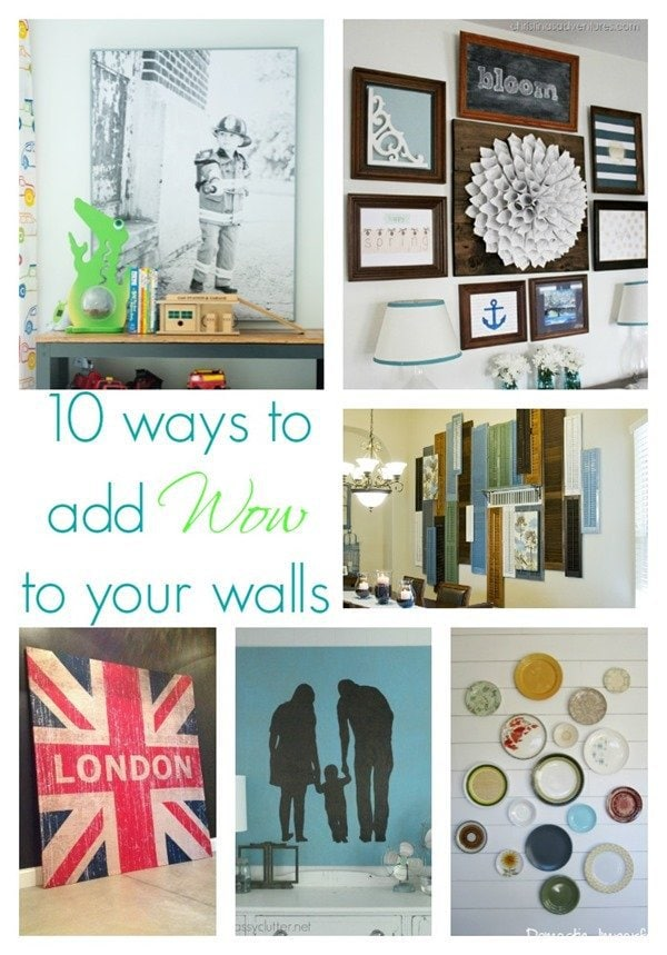 10 ways to make a major statement on your walls