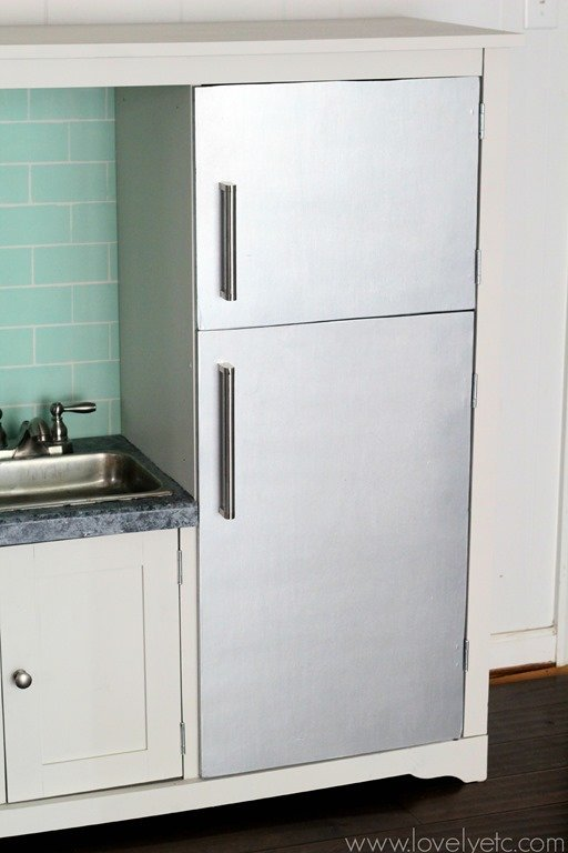 Details Of A Diy Play Kitchen Lovely Etc
