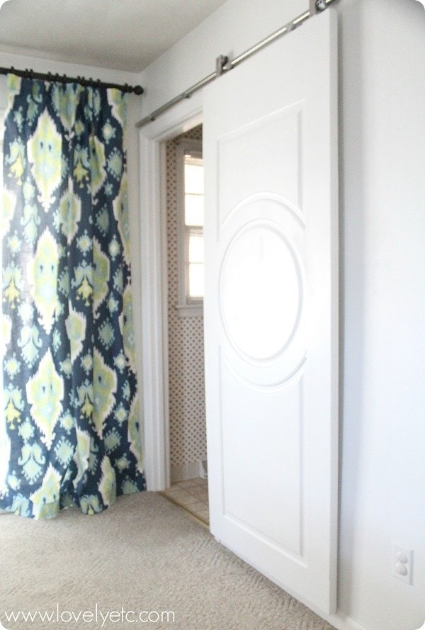 Simple Sliding Door The Perfect Solution To A Tight Doorway With
