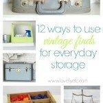 12 Creative Ideas for Vintage Storage
