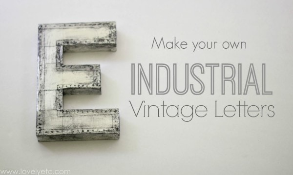 How to paint plastic to look like vintage metal - Lovely Etc