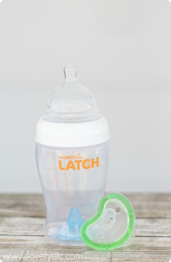 latch bottle and paci