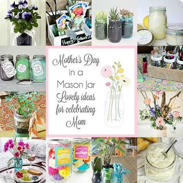 mothers day in a mason jar