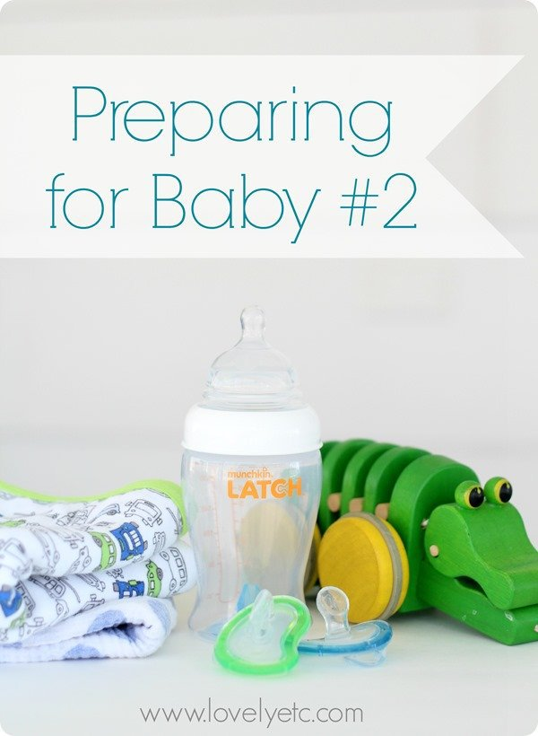 preparing for baby no 2