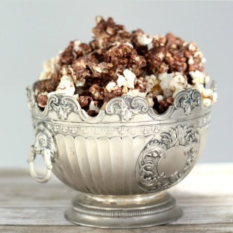 Chocolate Toffee Crunch Popcorn