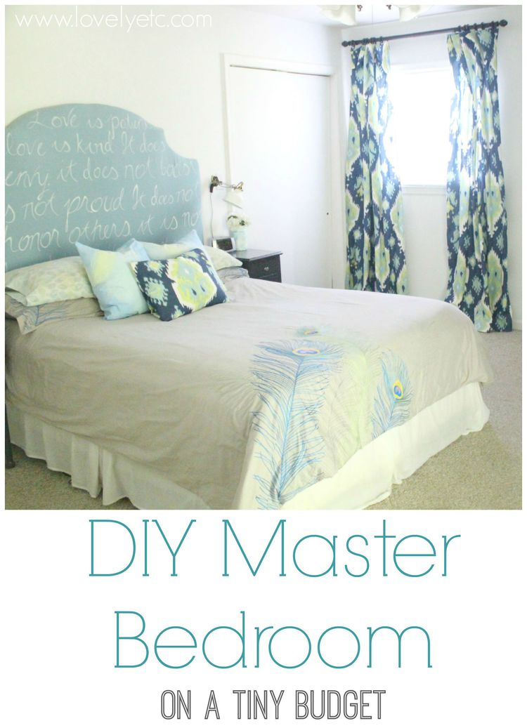 diy master bedroom sources tutorials and budget 11455 | diy master bedroom on a tiny budget wm