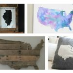 Beautiful and Meaningful DIY Map Art