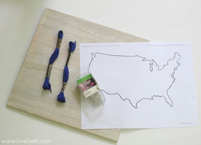 making map string art