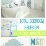 DIY Master Bedroom: Sources, Tutorials, and Budget