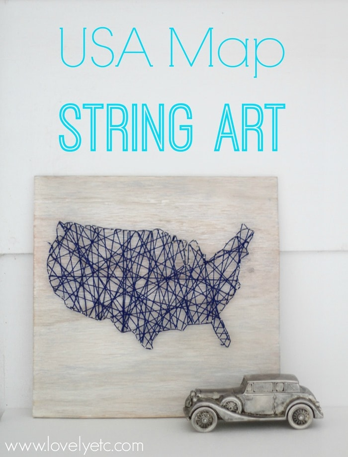 USA Map String Art Domestically Speaking - Pictures of usa map