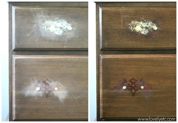 before and after restor a finish