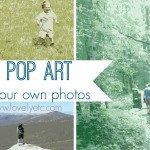 DIY pop art using your own photos