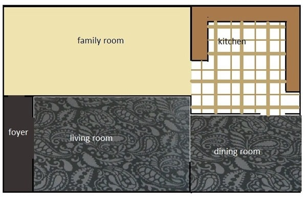 floor plan - current floor
