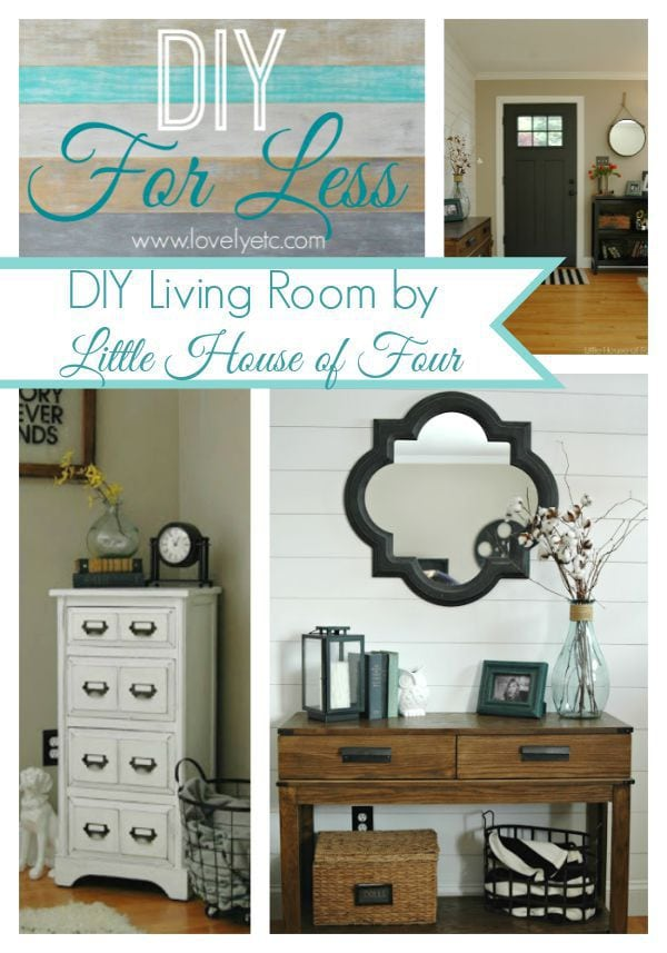 diy for less living room by little house of four
