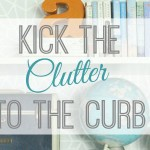Getting Clutter Gone plus a Giveaway
