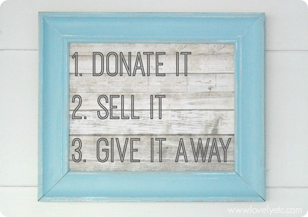donate sell give