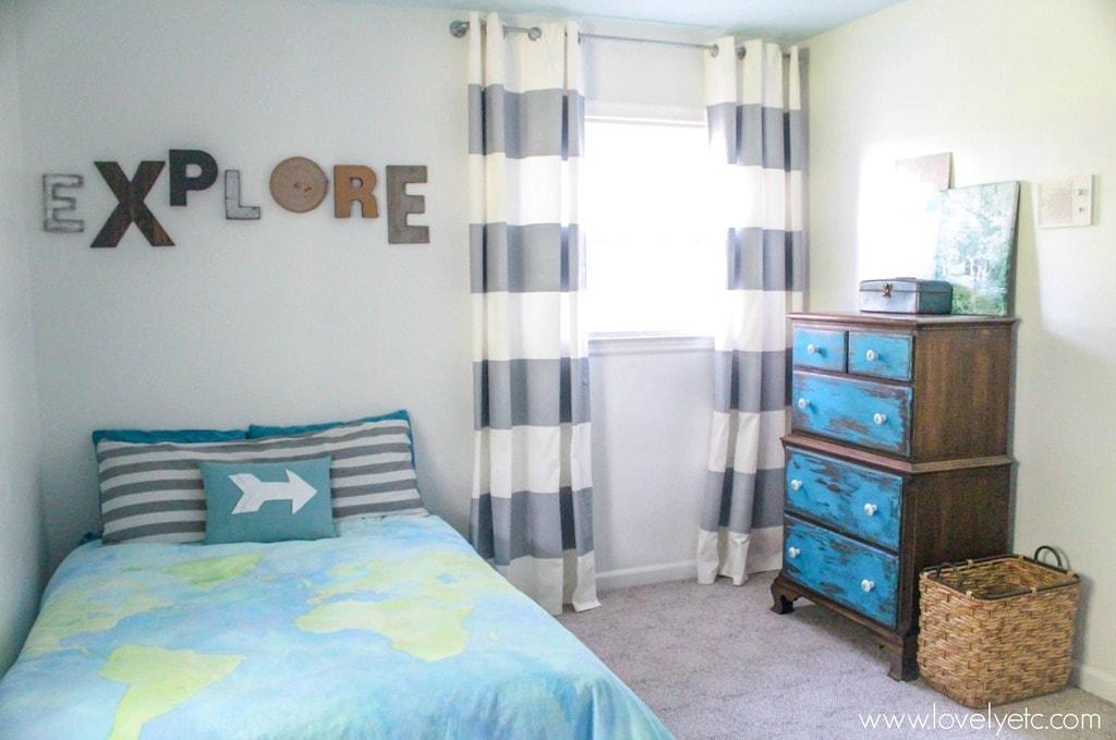 little explorer toddler room - Slate Bedroom 2015