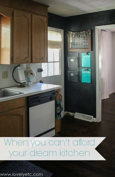 when you can't afford your dream kitchen
