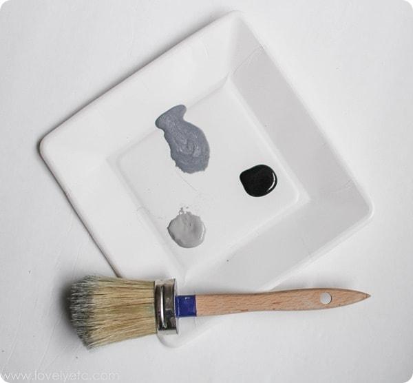 paint for vintage metal look