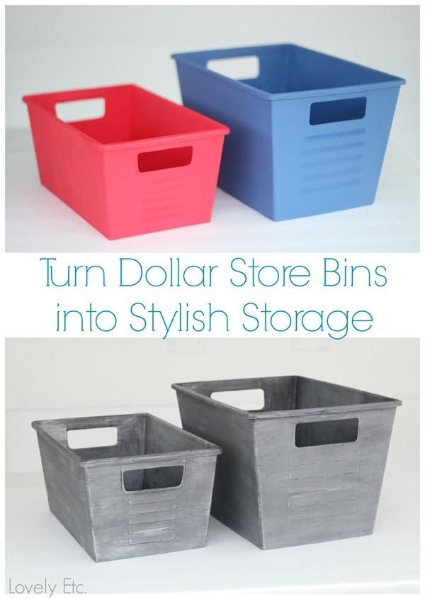 dollar store storage