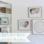 Custom Art from Newborn Photos