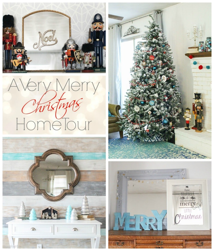 Christmas Home Tour and 500 Giveaway Lovely Etc