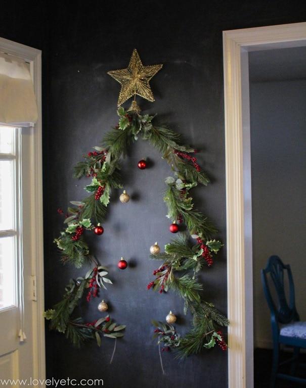 Christmas Tree Card Display - Lovely Etc.